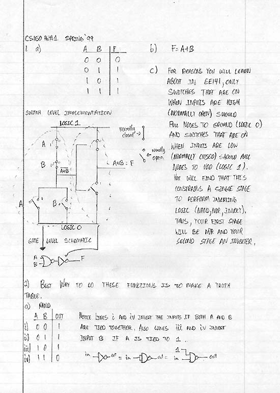 contemporary design homework logic