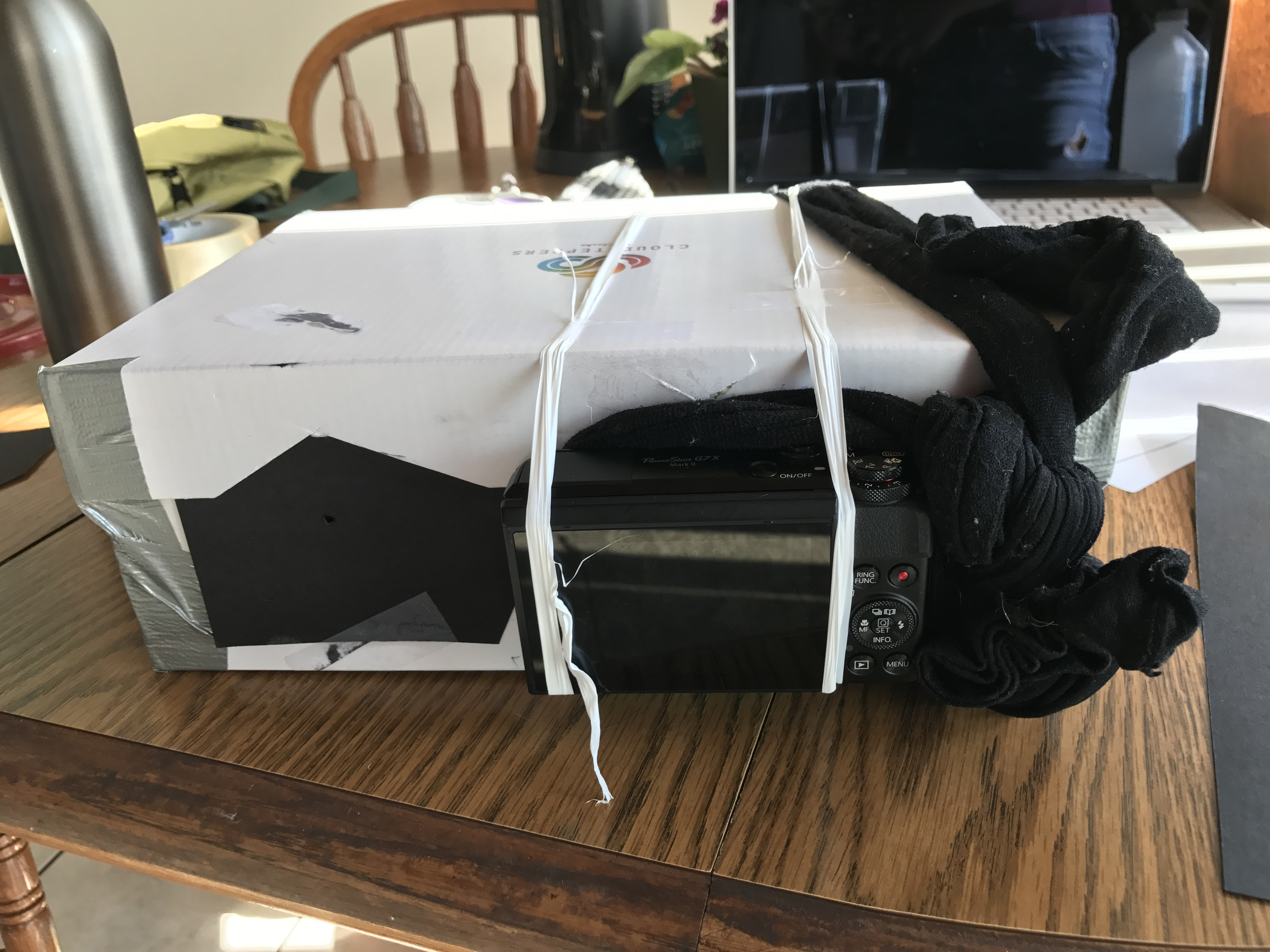 Project 2 Building A Pinhole Camera Diagram Overview